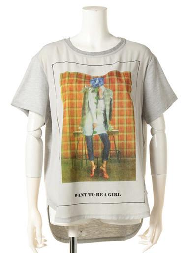 【KOREANNA】グラフィックTシャツ